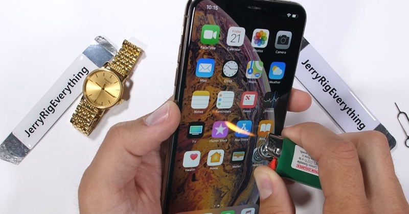 iphone xs max review jerry rig