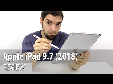 Apple iPad 9.7 (2018) Video Review în Limba Română (Apple Pencil Demo)