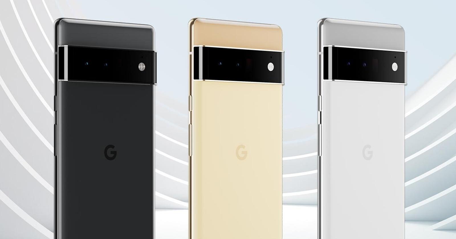[UPDATE: Paginile de produs au ajuns pe web] Seria Google Pixel 6 își face apariția în randări pentru presă; Flagship-ul primește un video de asamblare înainte de debut thumbnail