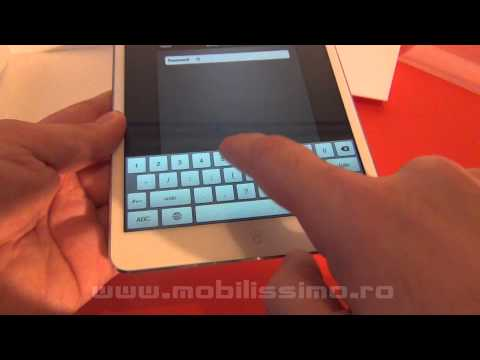 iPad mini unboxing - Mobilissimo.ro