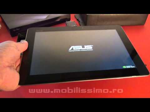 Asus Transformer Pad Infinity TF700T unboxing video - Mobilissimo.RO