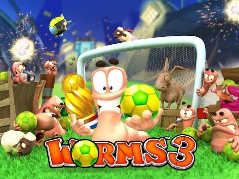Worms 3 Review (ASUS Transformer Pad TF103C/Jocuri Android) - Mobilissimo.ro