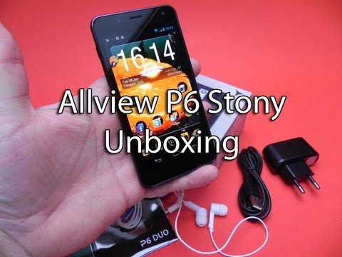Allview P6 Stony unboxing - Mobilissimo.ro
