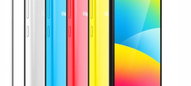 Gionee P5W este anunțat oficial; device entry-level cu procesor quad-core și display HD de 5 inch
