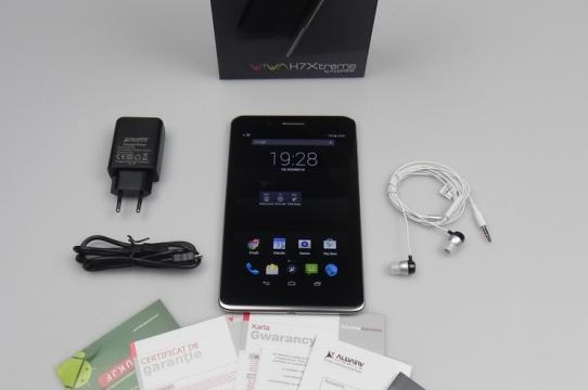Allview Viva H7 Xtreme - Unboxing (continutul cutiei): Allview Viva H7 Xtreme Unboxing