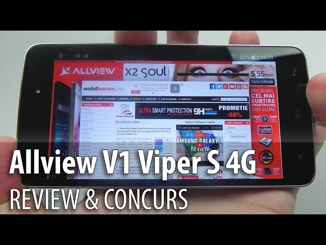 Allview V1 Viper S 4G Review & Concurs (Telefon LTE cu blitz frontal) - Mobilissimo.ro
