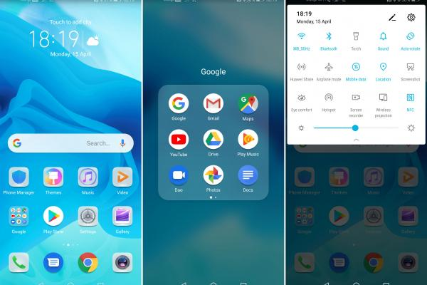 Huawei Honor View 20 - Screenshots
