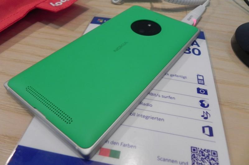 IFA 2014: Nokia Lumia 830 hands on - midrange-ul cu cameră Pureview și OIS, analizat (Video): dscn9440jpg.jpg