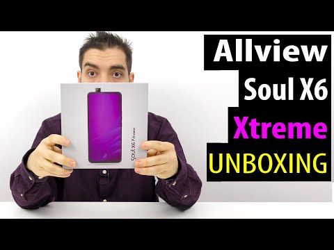 ALLVIEW SOUL X6 XTREME VIDEO UNBOXING