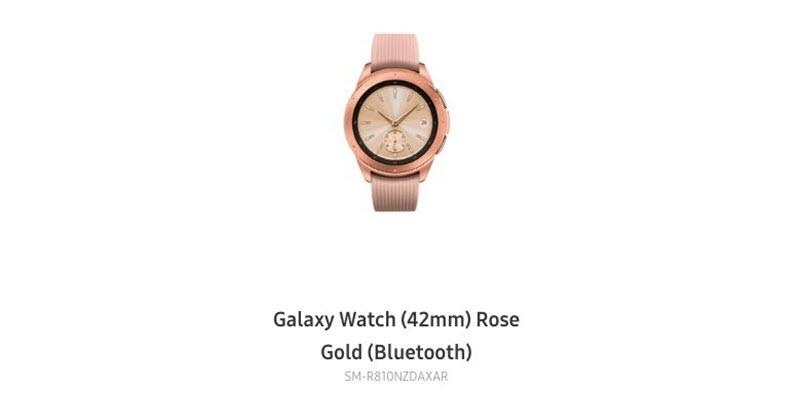Samsung Galaxy Watch Dezvăluit Intr O Randare Oficială Chiar Pe Site