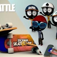 Stickman Skate Battle Review (Cube iWork 10 Ultimate): Jocurile de skateboarding revin la modă, acum cu accent pe multiplayer (Video)