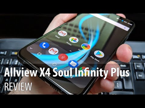 Allview X4 Soul Infinity Plus Video Review