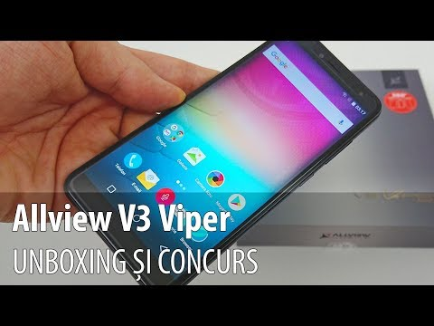 Allview V3 Viper Video Unboxing