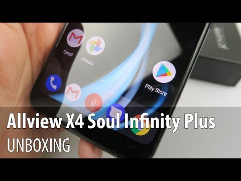 Allview X4 Soul Infinity Plus Video Unboxing