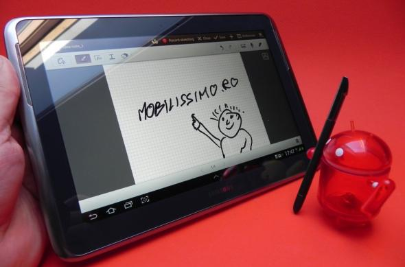 Samsung Galaxy Note 10.1 review - o tabletă puternică, cu un stylus superdotat, ecran ușor dezamăgitor (Video): 20_samsung_galaxy_note_10_1_review_mobilissimo_rojpg.jpg