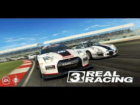 Real Racing 3 jucat pe tableta Evolio Aria Mini (Racing Simulator Android) - Mobilissimo.ro