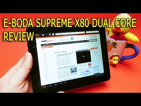 E-Boda Supreme X80 Dual Core review Full HD in limba romana - Mobilissimo.ro