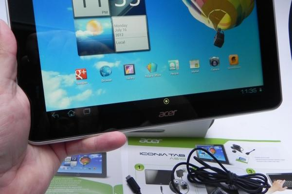 Acer Iconia Tab A510 - Unboxing