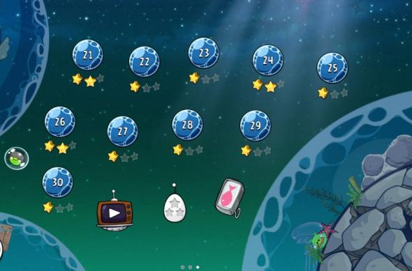 Angry Birds Space Pig Dipper review: 30 de nivele noi, gravitația Întâlnește gameplay-ul acvatic (Video): screenshot_2013_01_11_20_01_21.jpg