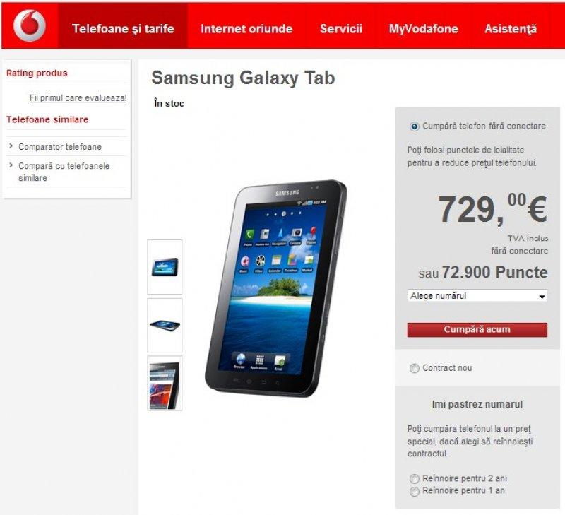 După Orange și Vodafone Rom 226 Nia Lansează Pe Piață Samsung