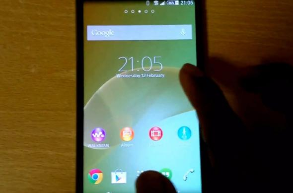 Sony Xperia Sirius aka Z2 apare Într-un clip hands on detaliat; Iată interfața sa personalizată! (Video): 13_2_2014_14_42_41_pm.jpg