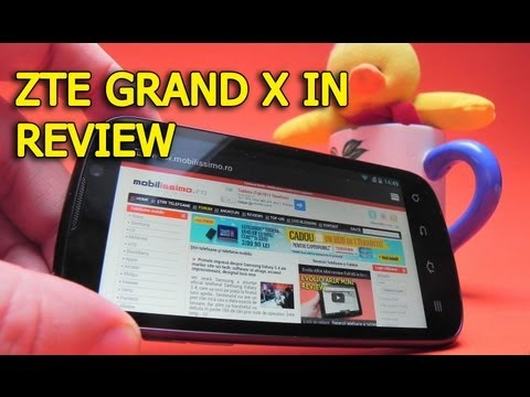 ZTE Grand X IN Review Full HD in Limba Romana - Mobilissimo.ro