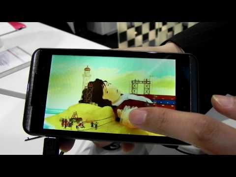 LG Optimus 3D Hands-On - Mobilissimo TV