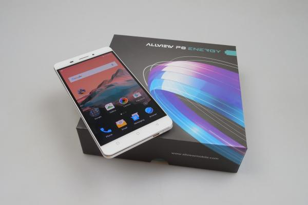 Allview P8 Energy - Unboxing