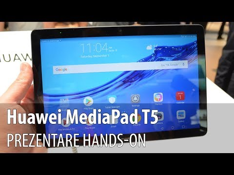 Huawei MediaPad T5 - Video-prezentare hands-on de la #IFA2018 din Berlin