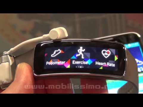Samsung Gear Fit Hands-On Video Preview - Mobilissimo.ro