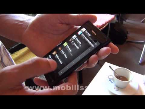 Nokia N9, in premiera in Romania - hands-on Mobilissimo.ro