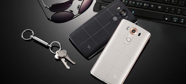 LG V10 disponibil de astăzi la QuickMobile.ro; phablet de 5.7 inch cu display secundar și 4 GB RAM