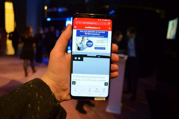 Samsung Galaxy S8+ - Fotografii Hands-On de la evenimente