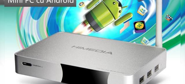 Himedia Q5, un mini PC multimedia cu Android care transformă televizorul În Smart TV