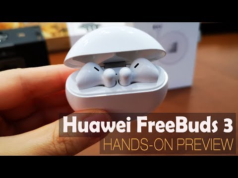Huawei FreeBuds 3 Hands-On Preview în Română