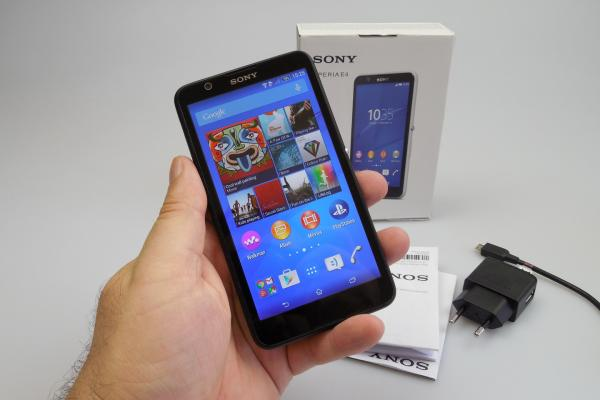 Sony Xperia E4 - Unboxing
