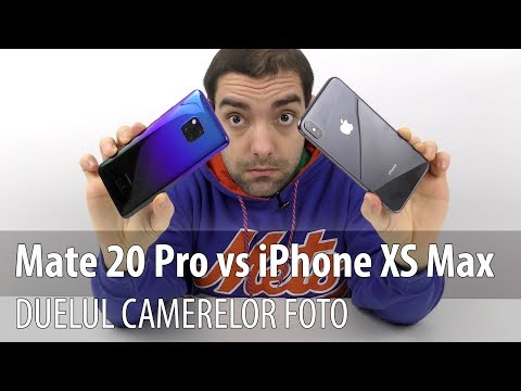 Huawei Mate 20 Pro versus iPhone XS Max, duelul camerelor foto (Video Comparație)