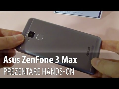 ZenFone 3 Max, rezentar video Hands-on