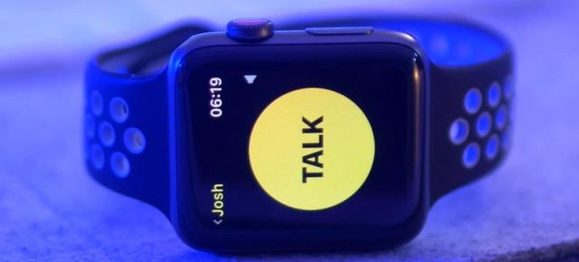 Apple Watch are o vulnerabilitate gravă, pusă pe seama banalei aplicaţii Walkie Talkie