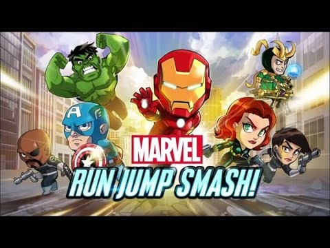 Marvel Run Jump Smash! Review & Gameplay (Jocuri Android/ Evolio X7) - Mobilissimo.ro