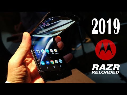 Motorola RAZR 2019 Prezentare Hands-On de la evenimentul de lansare din UK