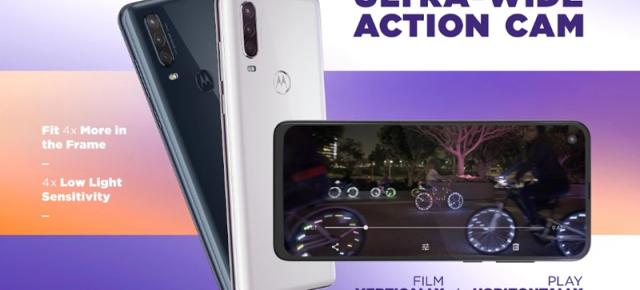 Motorola One Action este acum oficial! Are o cameră video de acțiune ce permite captura ultra-wide în mod vertical