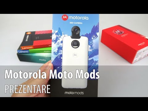 Motorola Moto Mods: Style Shell cu încărcare, Turbo Power, Moto 360 Camera