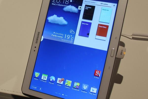 IFA 2013: Samsung Galaxy Note 10.1 ediția 2014 Hands on - tot ce ar trebui să fie un Tab și un Note (Video)