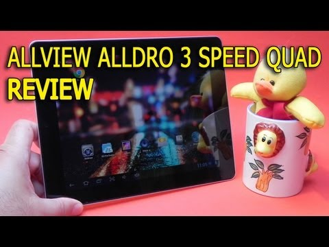 Allview AllDro 3 Speed Quad review full HD in limba romana - Mobilissimo.ro