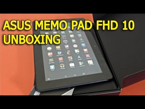 Asus MeMo Pad FHD 10 Unboxing - Mobilissimo.ro