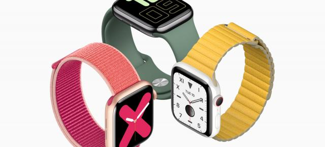 Apple Watch Series 5 este oficial: ceas inteligent cu Always On Display, busolă, corp din titaniu