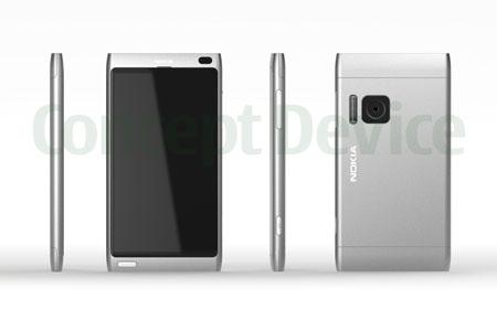 Nokia U - un telefon concept incredibil cu display de 4 inchi, camera de 8 megapixeli