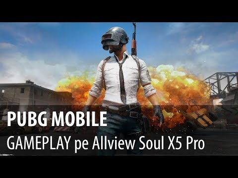 PUBG Mobile - Video-prezentare joc cu Chicken Dinner pe Allview X5 Soul Pro