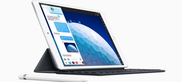 Apple anunţă noul iPad Air de 10.5 inch, cu ecran LED, procesor Apple A12